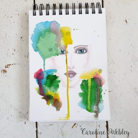 Watercolour faces